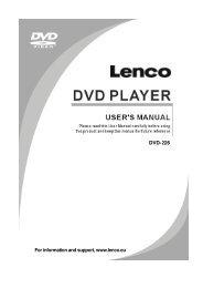 DVD-226 - Lenco