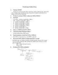 II kolokvijum Mobilne 2012.g. 1. Nedostaci OFDM? - Osjetljivost na ...