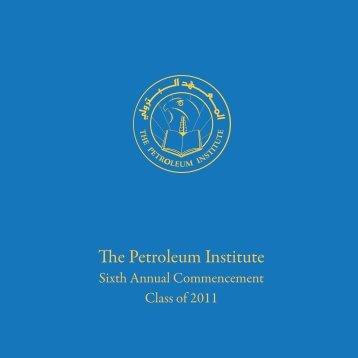 English - The Petroleum Institute
