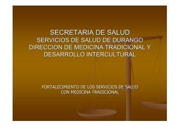 medicinas complementarias - Dirección General de Planeación y ...