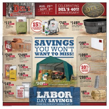 2499 - Del's - Feed And Farm Supply