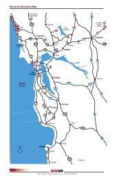 Pacific Ocean Bay Area Overview Map - SuperTopo