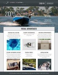 2100 rx bowrider regal advantages - PassionPerformance.ca