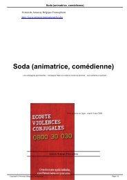 Soda (animatrice, comédienne)