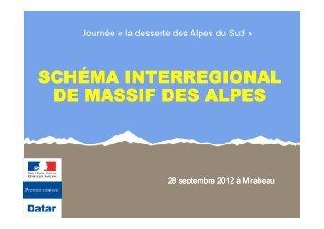 Schema interregional massif Alpes.pdf - L'observatoire régional des ...