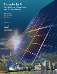 Tracking the Sun III - Clean Energy States Alliance