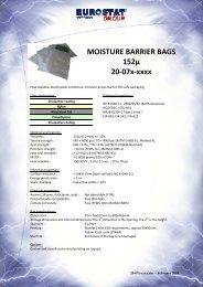 MOISTURE BARRIER BAGS 152µ 20-07x-xxxx - Sinerji Grup