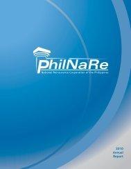 2010 Annual Report - Nrcp.com.ph