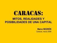 Caracas: mitos, realidades y posibilidades de una capital, Arq ...