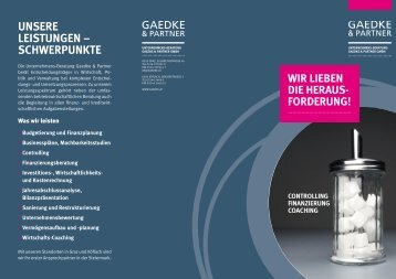 download Unternehmens-Beratung Folder - Gaedke & Partner