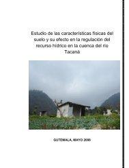 Estudio de las características físicas del suelo y su efecto en la ...