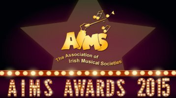 AIMS Awards Winners 2015