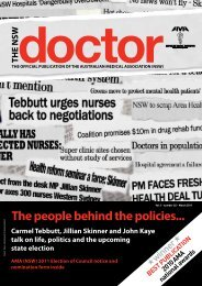 The people behind the policies... - Australian Medical Association ...