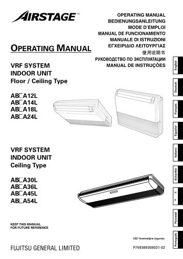 OPERATING MANUAL - Klima-Therm