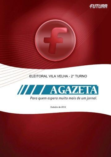 Pesquisa Eleições 2º turno – VILA VELHA - FuturaNet