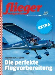 Die perfekte Flugvorbereitung - Fliegermagazin