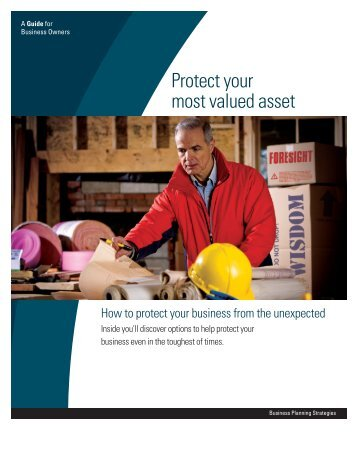 Business Protection Option Grid (PDF) - MassMutual