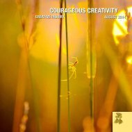 Courageous Creativity August2014