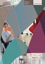 Haworth Farben und Materialien - Bueroteam-kataloge.de