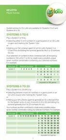 How to play - SA Lotteries - Page 5