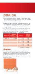 How to play - SA Lotteries - Page 7
