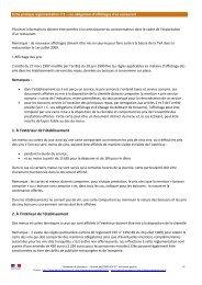 Fiche pratique n°2 les affichages obligatoires - Sites disciplinaires ...