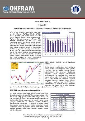 EKONOMİ BÜLTENİ 68 04 Nisan 2011 HAMMADDE ...