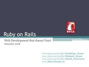 Ruby on Rails - Marc-seeger.de