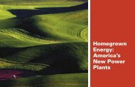 Homegrown Energy - National Association of Conservation Districts
