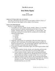 IDS Bylaws - Auburn University