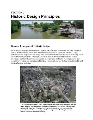 SECTION 3 Historic Design Principles - Village of Pittsford