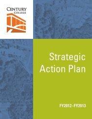 Strategic Action Plan 2012-13 - Century College
