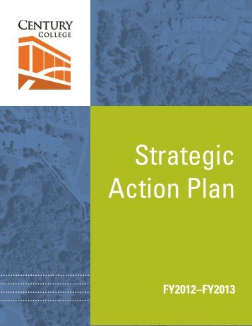 Strategic Action Plan 2012-13 - Century College