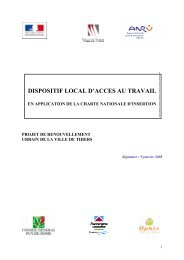 Dispositif Local d'Accès au Travail - Thiers