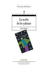 La noche de los yakuzas - Anaya Infantil y Juvenil