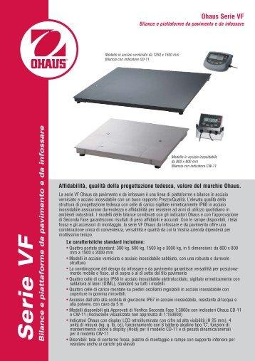 Bilance industriali e bilici serie VE-VFP-VFS da 300-3000 kg
