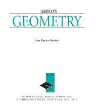 AMSCO'S Geometry. New York - Rye High School