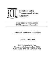 ANSI/SCTE 84-1 2009