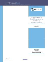 Qualitative Positioning Analysis of Accounting, Finance ... - NetSuite