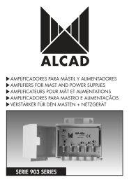 SERIE 903 SERIES - Alcad
