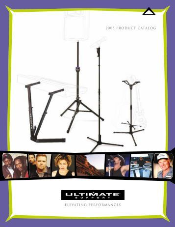2005 Product Catalog Elevating Performances