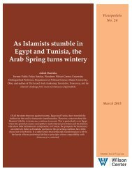 As Islamists stumble in Egypt and Tunisia, the Arab Spring turns ...