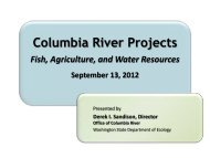 Office of the Columbia River Projects - American Water Resources ...