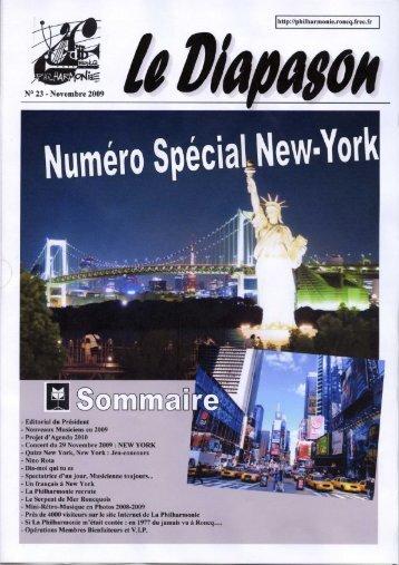 Diapason 23 - La Philharmonie de Roncq