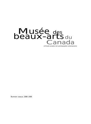 Musée des beaux-artsdu - National Gallery of Canada