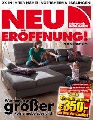 2x in ihrer nähe! ingersheim & esslingen! - Polsterwelt Engelhardt