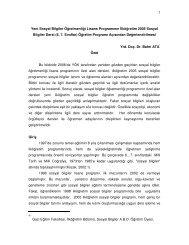 1 Yeni Sosyal Bilgiler Öğretmenliği Lisans Programının İlköğretim ...