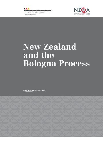 New Zealand and the Bologna Process
