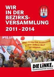 Wir in der Bezirks- versammlung 2011 - 2014 - von Robert Jarowoy