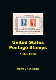 United States Postage Stamps